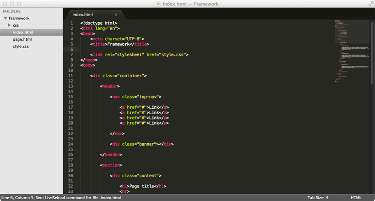 Workflow - Sublime Text